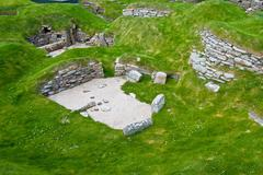 Skara Brae - stock photo