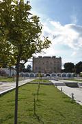 Zisa Castle. Palermo- Stock Photos