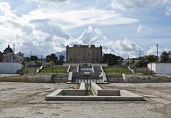 Zisa Castle Palermo- Sicily Stock Photos