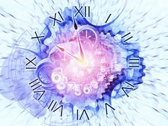 Time intervals - stock illustration