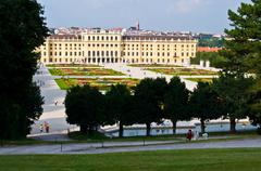 Schoenbrunn - stock photo