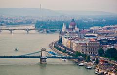 Stock Photo of View of Budapest
