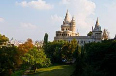 Fisherman's Bastion - stock photo