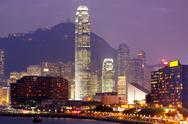 Stock Photo of hongkong city night