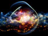 Colorful fractal clouds Stock Illustration