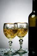 Wine splash Stock Photos