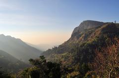 Ella Rock in Sri Lanka - stock photo