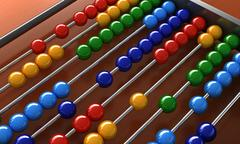 Abacus Stock Illustration