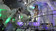 Carnival in Rio de Janeiro, Brazil Stock Footage