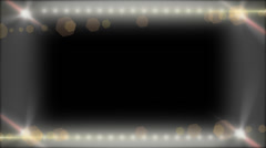 Led Frame Overlay - stock footage