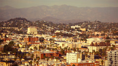 Los Angeles Hills 02 HD - stock footage