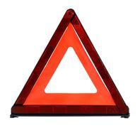 triangular safety reflector - stock photo