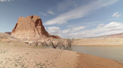Lake Powell Still shot Stock Footage