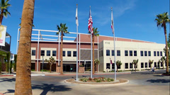 Stock Video Footage of City Hall City Government Building- Hesperia, California