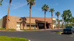 Stock Video Footage of Public Library Building- Hesperia California