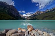 Stock Photo of Lake Louise Tranquil