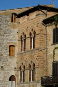 San Gimignano (Tuscany) - stock photo