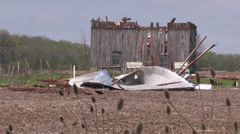 Stock Video Footage of tornado damage in Ontario Canada