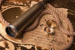 Navigation Equipment - stock photo