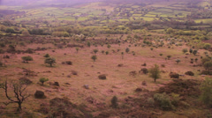 Dartmoor wide 3 Stock Footage