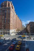 Manhattan Buildings and Skyscrapers Stock Photos