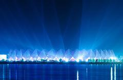 Stock Photo of Crystal Hall - Eurovision 2012 venue Baku Azerbaijan