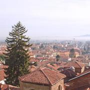 Aerial view, Rivoli Stock Photos