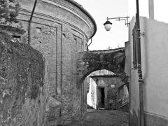 Stock Photo of Rivoli old town, Italy