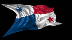 Flag of Panama Stock Footage