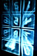 cyber numpad - stock photo