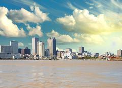 New Orleans Skyline Mississippi, Louisiana Kuvituskuvat