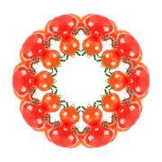 Kaleidoscopic Tomatoes Stock Photos