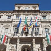 Stock Photo of Town Hall, Turin