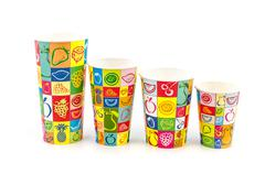 Refreshment Paper cups Stock Photos
