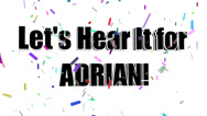 Stock Video Footage of Lets Hear It for ADRIAN
