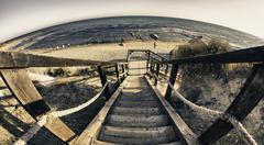 Scala dei Turchi Beach in Sicily - stock photo
