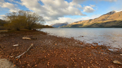 Morning at glenorchy, new zealand Stock Footage