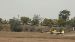 Van's Aircraft RV-7 takes off Stock Footage