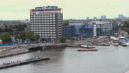 Stock Video Footage of Amsterdam cityscape