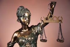 Temida, law justice Stock Photos
