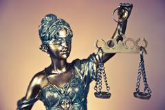 Temida, law justice - stock photo