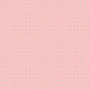 Coral Pink Mint Polka Dots Spot Pattern - stock illustration