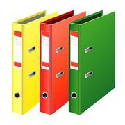 Folder for data archives Stock Illustration