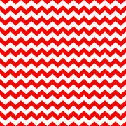 Red White Chevron Zig Zag Background Pattern - stock illustration