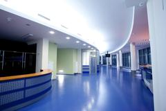 architecture, empty vestibule - stock photo