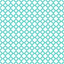 Stock Illustration of White Turquoise Quatrefoil Repeating Pattern