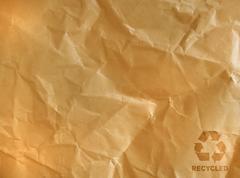 Ruskea rypistynyt paperi Kuvituskuvat