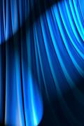 Brightly lit curtains in theatre concept Stock Photos
