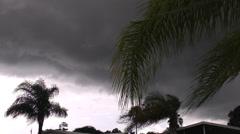 Storm cloud - stock footage