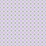 Stock Illustration of Purple Grey Gray Quatrefoil Seamless Background